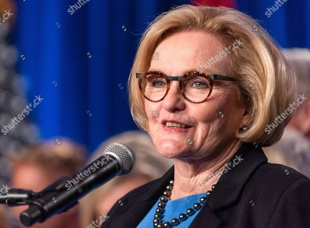 Editorial image of McCaskill concedes defeat in the 2018 mid-term elections, Saint Louis, USA - 06 Nov 2018