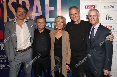 Stock Image of Jason Blum, IFF Founder Meir Fenigstein, Lin Shaye, Avi Nesher, David Gersh