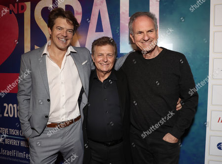 Jason Blum, IFF Founder Meir Fenigstein and Avi Nesher