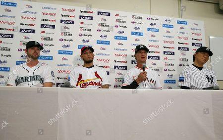 Editorial picture of MLB All Stars Baseball, Tokyo, Japan - 07 Nov 2018