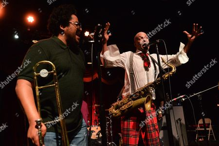 Editorial photo of Fishbone and Living Colour in concert at Brooklyn Bowl, New York, USA - 06 Nov 2018