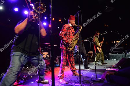 Editorial picture of Fishbone and Living Colour in concert at Brooklyn Bowl, New York, USA - 06 Nov 2018