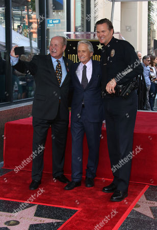Editorial image of Michael Douglas Honored with a Star on the Hollywood Walk of Fame, Los Angeles, USA - 06 Nov 2018