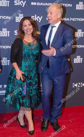 Stock Image of Tom Buhrow, wife Sabine Stamer