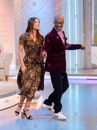 Danny John-Jules and Amy Dowden