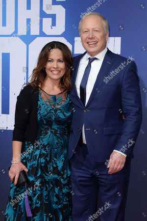Stock Photo of Daniela Boff and Tom Buhrow