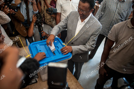 Editorial picture of Madagascar elections voting, Antananarivo - 07 Nov 2018
