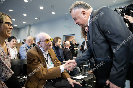 Editorial image of Righteous Among the Nations honor awarded in Berlin, Germany - 07 Nov 2018