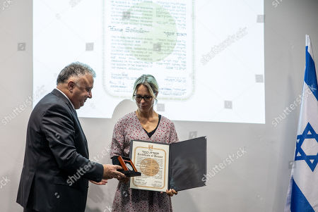 Editorial photo of Righteous Among the Nations honor awarded in Berlin, Germany - 07 Nov 2018