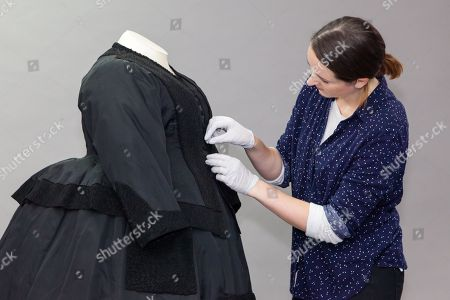 77f326a768d825 Unseen Queen Victoria mourning dress is going on display at Museum of  London for the first