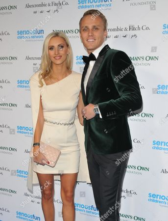 Stock Picture of Chloe Roberts and Max Chilton