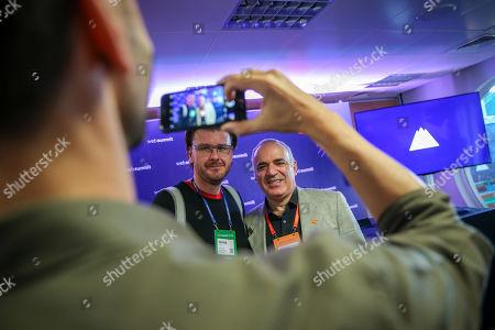 Editorial image of Web Summit 2018 in Lisbon, Portugal - 07 Nov 2018