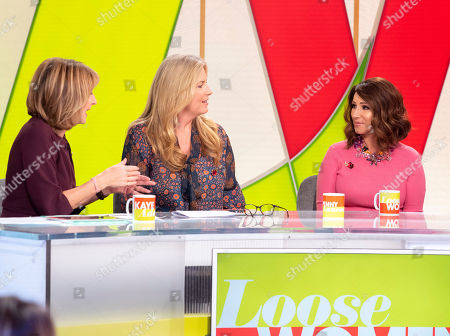 Stock Picture of Kaye Adams, Penny Lancaster, Jacqueline Gold CBE