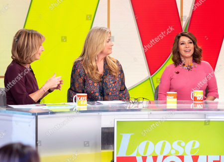 Editorial image of 'Loose Women' TV show, London, UK - 07 Nov 2018