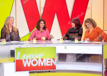 Penny Lancaster, Jacqueline Gold CBE, Janet Street-Porter and Nadia Sawalha