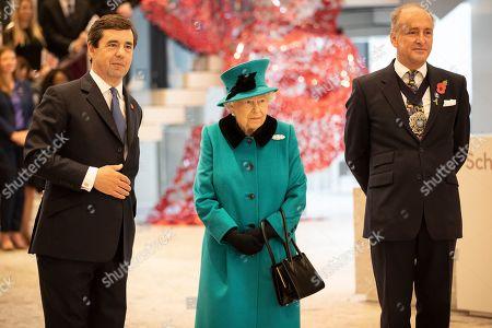 Editorial image of Queen Elizabeth II opens new Headquarters of Schroders plc, London, UK - 07 Nov 2018