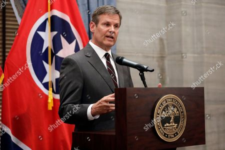 Governor-elect Bill Lee speaks during a news conference, in Nashville, Tenn. Lee defeated Democrat Karl Dean in the gubernatorial race Tuesday