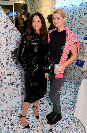 Stock Photo of Fran Cutler and Pixie Geldof