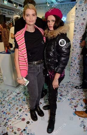 Pixie Geldof and Bip Ling