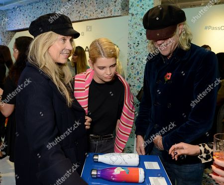 Jeanne Marine, Pixie Geldof and Sir Bob Geldof