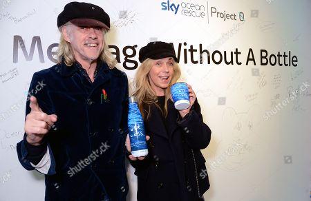 Sir Bob Geldof and Jeanne Marine