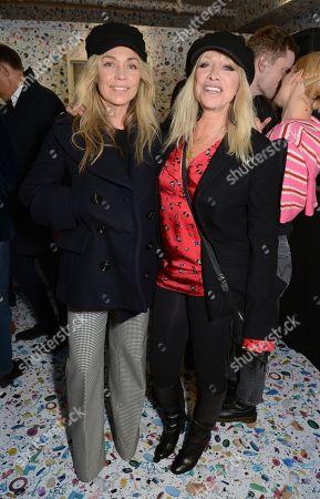 Jeanne Marine and Jo Wood