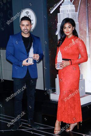 Jay Sean and Nina Davuluri