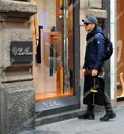 Editorial photo of Beppe Fiorello out and about, Milan, Italy - 07 Nov 2018