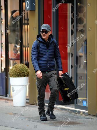 Editorial image of Beppe Fiorello out and about, Milan, Italy - 07 Nov 2018
