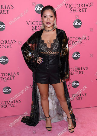 Editorial picture of Victoria's Secret Fashion Show, Pink Carpet Arrivals, New York, USA - 08 Nov 2018