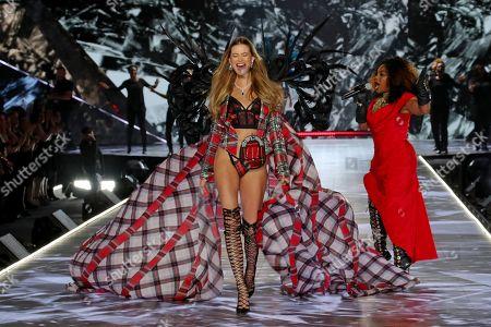 Editorial picture of Victoria's Secret Fashion Show, Runway, New York, USA - 08 Nov 2018