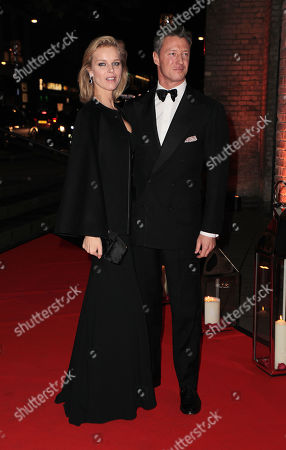 Stock Photo of Eva Herzigova and Gregorio Marsiaj