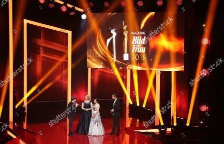 Editorial photo of 'Goldene Bild der Frau' awards in Hamburg, Germany - 07 Nov 2018