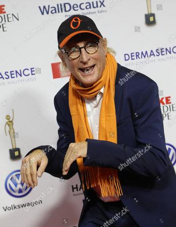 "Otto Waalkes on the Red Carpet for the 'Goldene Bild der Frau"" Awards ceremony in Hamburg, northern Germany, 07 November 2018. The 'Goldene Bild der Frau' is awarded to women in voluntary positions."