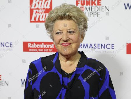 "Marie-Luise Marjan on the Red Carpet for the 'Goldene Bild der Frau"" Awards ceremony in Hamburg, northern Germany, 07 November 2018. The 'Goldene Bild der Frau' is awarded to women in voluntary positions."