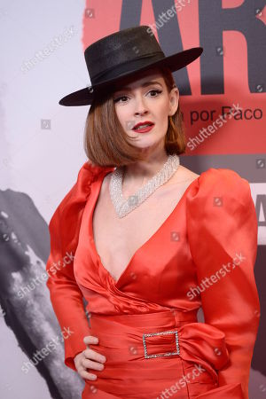 Editorial picture of 'Arde Madrid' series premiere, Madrid, Spain - 07 Nov 2018