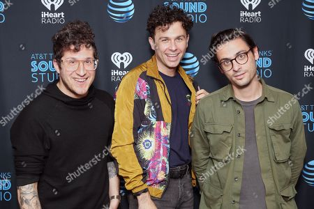 Arkells - Anthony Carone, Max Kerman and Mike DeAngelis