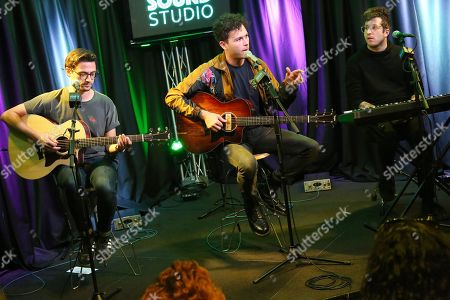 Editorial picture of Arkells in concert at Radio 104.5, Bala Cynwyd, USA - 07 Nov 2018