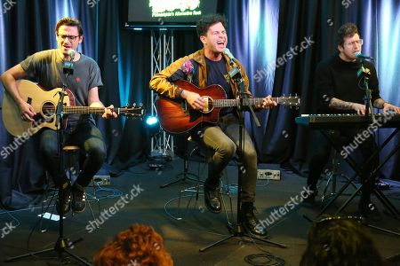 Editorial image of Arkells in concert at Radio 104.5, Bala Cynwyd, USA - 07 Nov 2018