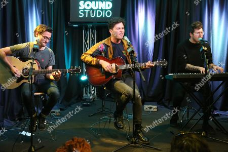 Editorial photo of Arkells in concert at Radio 104.5, Bala Cynwyd, USA - 07 Nov 2018