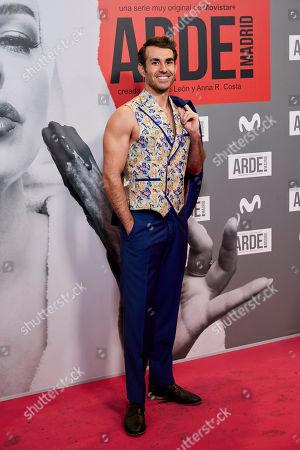 Editorial photo of 'Arde Madrid' series premiere, Madrid, Spain - 07 Nov 2018