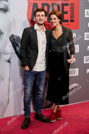 Stock Image of Raul Arevalo and Melina Matthews