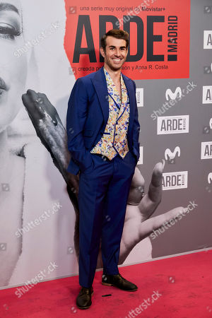 Editorial picture of 'Arde Madrid' series premiere, Madrid, Spain - 07 Nov 2018