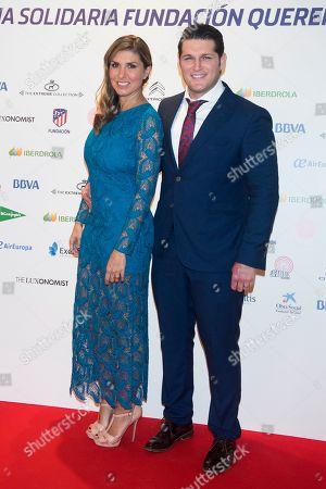 Silvia Casas and Manu Tenorio