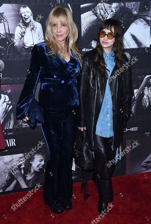 Rosanna Arquette, Zoe Sidel. Rosanna Arquette, left, and her daughter Zoe Sidel arrive at JONI 75: A Birthday Celebration, at the Dorothy Chandler Pavilion in Los Angeles