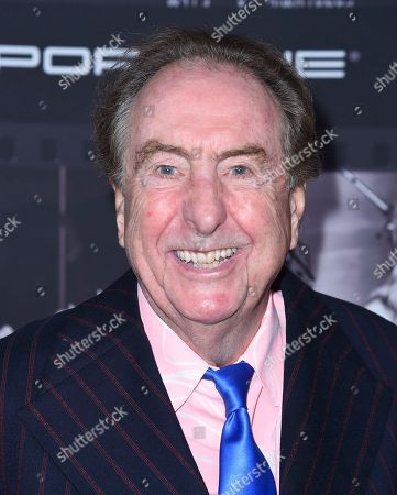 Eric Idle arrives at JONI 75: A Birthday Celebration, at the Dorothy Chandler Pavilion in Los Angeles