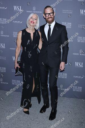 Linda Fargo and Bjorn Wallander