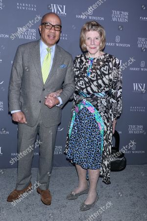 Stock Picture of Darren Walker, Agnes Gund