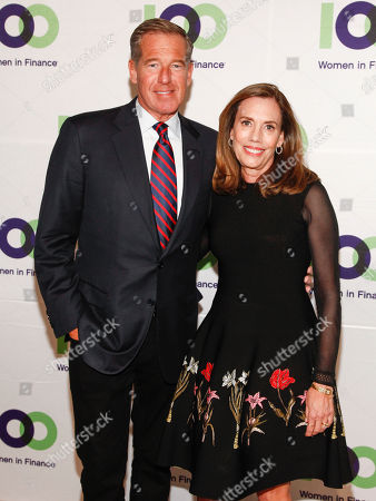 Brian Williams, Jane Williams. Brian Williams, left, and Jane Williams, right, attend the 100 Women in Finance (100WF) and Horizons National host joint fundraising gala at Cipriani 42nd Street, in New York