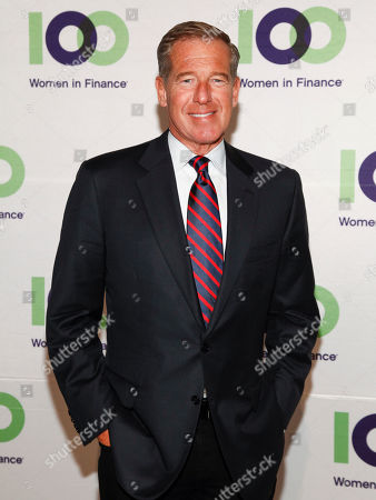 Stock Photo of Brian Williams attends the 100 Women in Finance (100WF) and Horizons National host joint fundraising gala at Cipriani 42nd Street, in New York